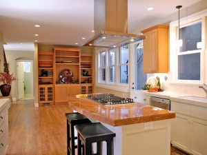 Classic kitchen design with island